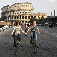 Trip to Rome by bicycle or on foot!